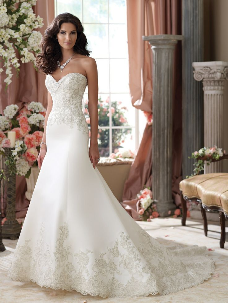 17 Best images about David tutera wedding dresses on Pinterest ...