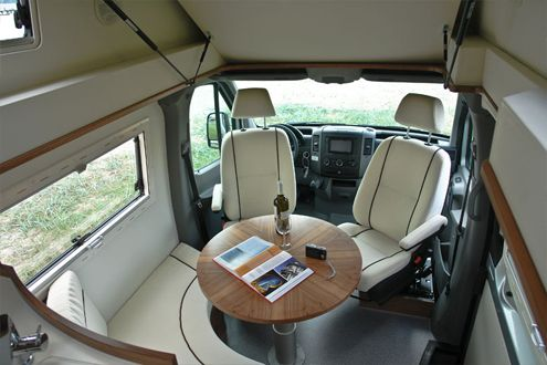 Pulse - Mercedes Sprinter with circular seating