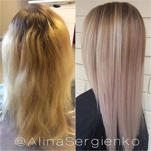 ✂🎀 Цвет волос, способный сбросить 10 лет, плюс чудо-средство, которое позволит окрашенным волосам выглядеть на все 100. Посмотрите и почувствуйте разни... - Елена Сергиенко - Google+