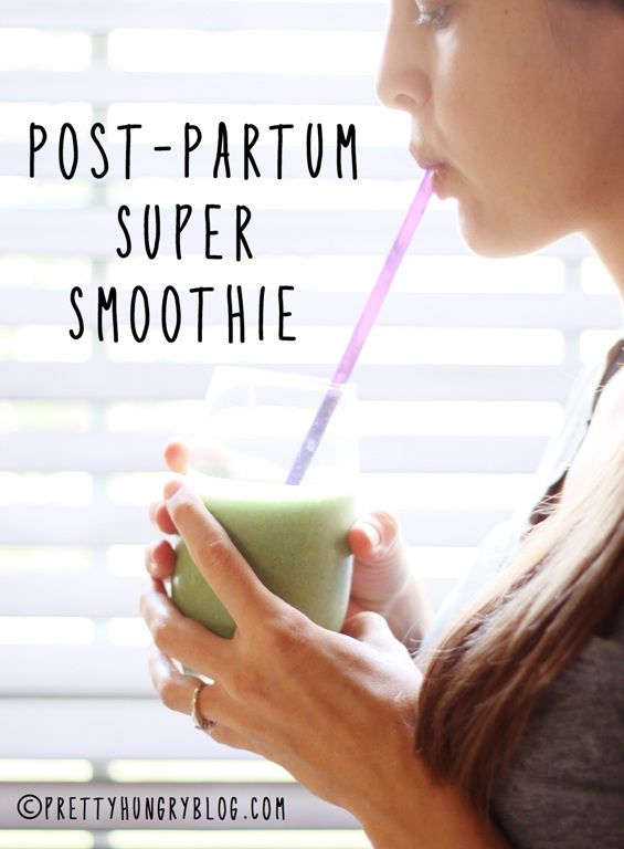 Post-Partum Super Smoothie: A fat-burning, hormone-balancing, smoothie for new mommies!
