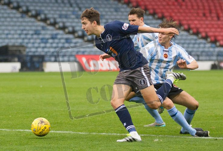 Queen's Park's Dario Zanatta in action during the Ladbrokes League One game between Queen's Park and Stenhousemuir.