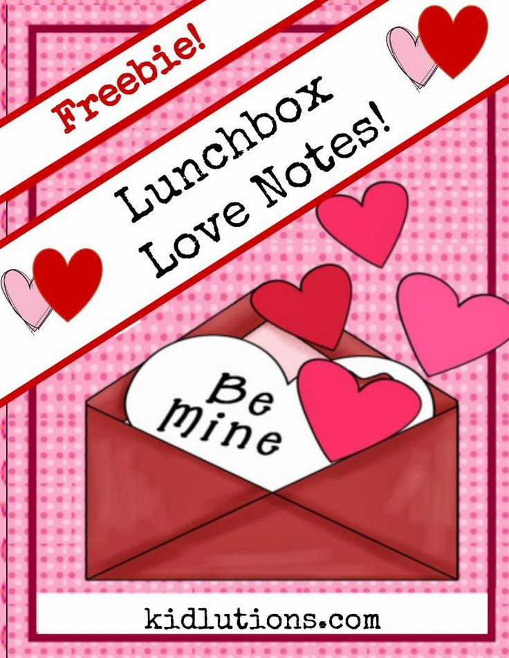 FREEBIE: Lunchbox Love Notes! Printable. 9 complete love notes, plus a blank template to write your own heartfelt messages! #parenting #play