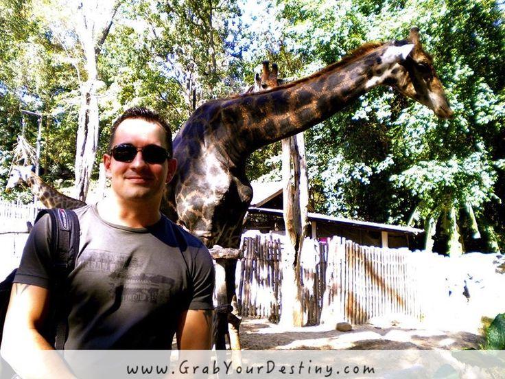 Chiang Mai Zoo #Thailand #GrabYourDestiny #ChiangMaiZoo #Travel #JasonAndMichelleRanaldi  www.GrabYourDestiny.com