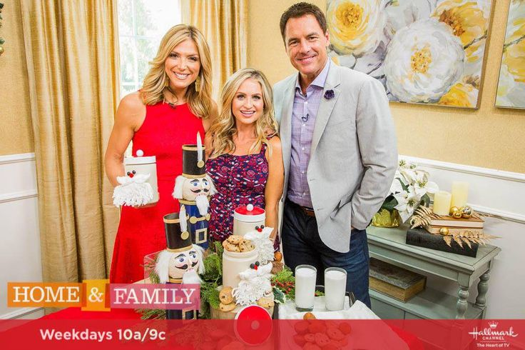 #DIY Christmas #CookieJars for #Christmas in July on Hallmark's Home and Family Show #mariaprovenzano #homemade #fromscratch #craft