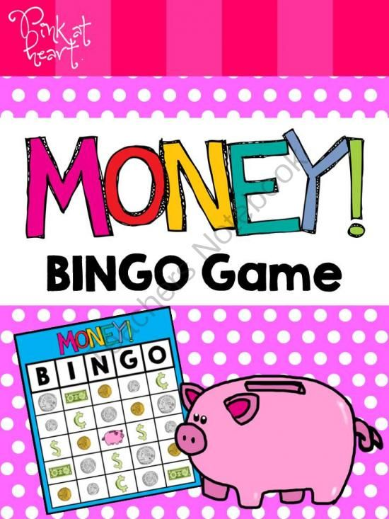 Money BINGO Game GIVEAWAY!!!! Enter for your chance to win 1 of 3.  MONEY! BINGO Game (11 pages) from Pink at Heart on TeachersNotebook.com (Ends on on 8-13-2014)  Back to school giveaway!  Enjoy this Money BINGO Game valued at $1.50!