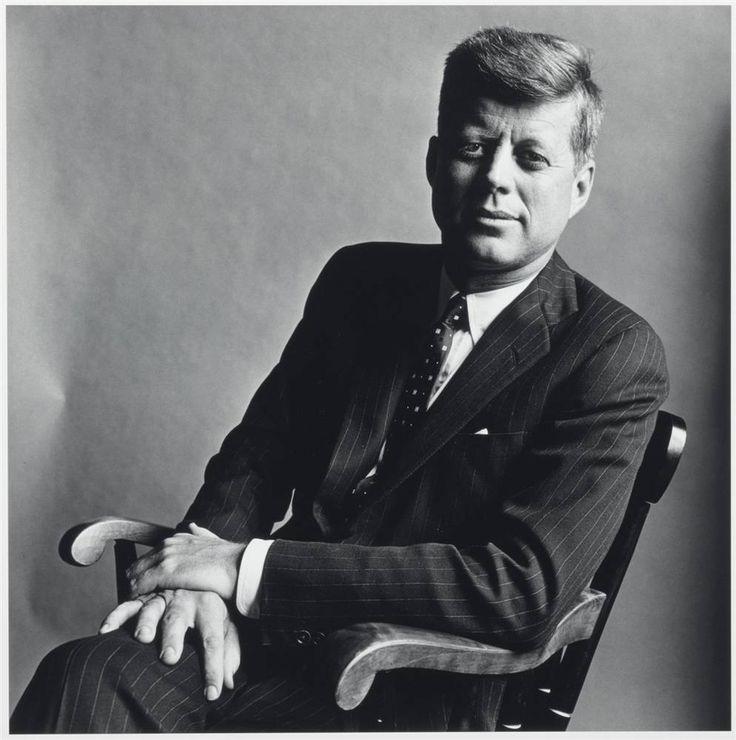 John Kennedy by Irving Penn