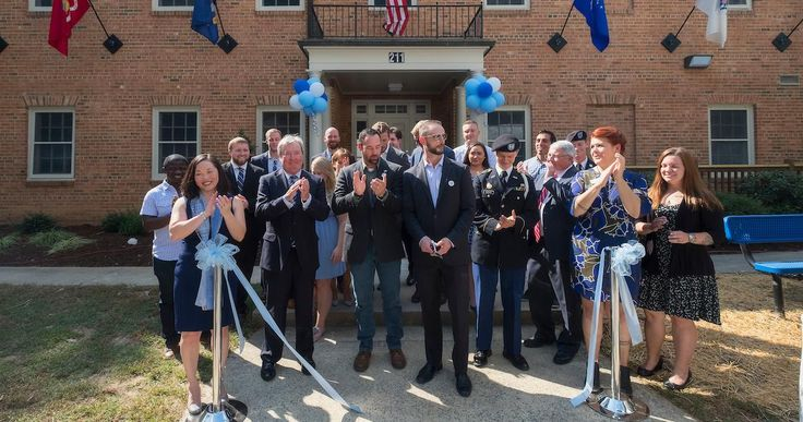 UNC took its next step toward better supporting and serving the university's veterans, service members and military families on Thursday when it cut the ribbon on the Carolina Veterans Resource Center — a hub for services focused on their needs. #UNCad