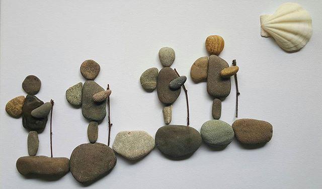 #kieselkunst #steine #kieselsteine #kiesel #stones #pebbles #pebblesart…