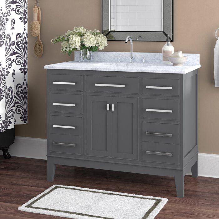 Arminta 42 Single Bathroom Vanity Set Bathroom Vanity Single
