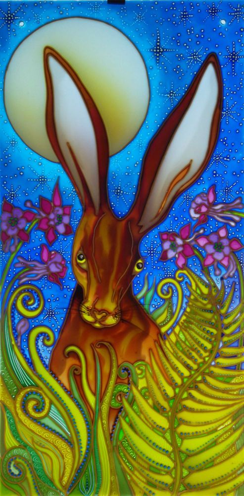 118 Best Moon Gazing Hares Images On Pinterest Hare