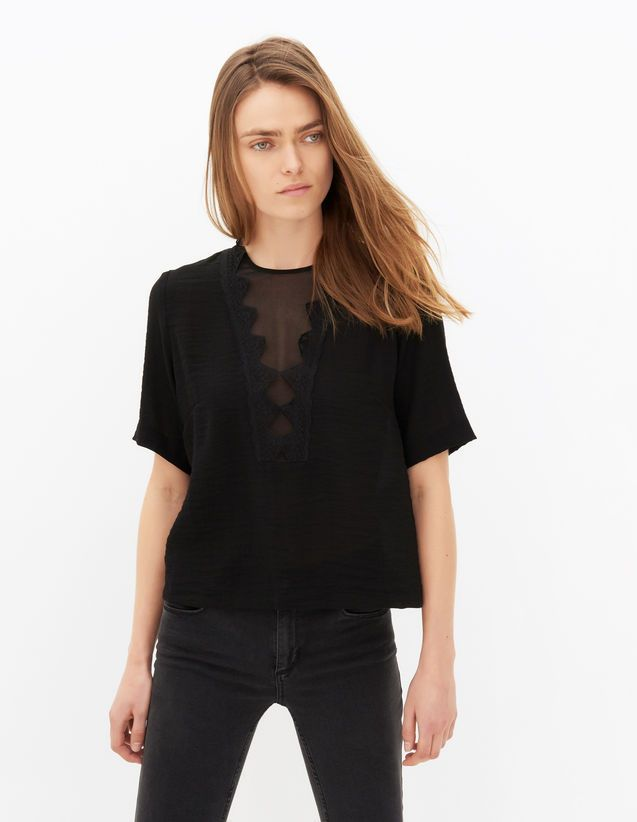 Top Eulalie - Tops & Shirts - Sandro Paris