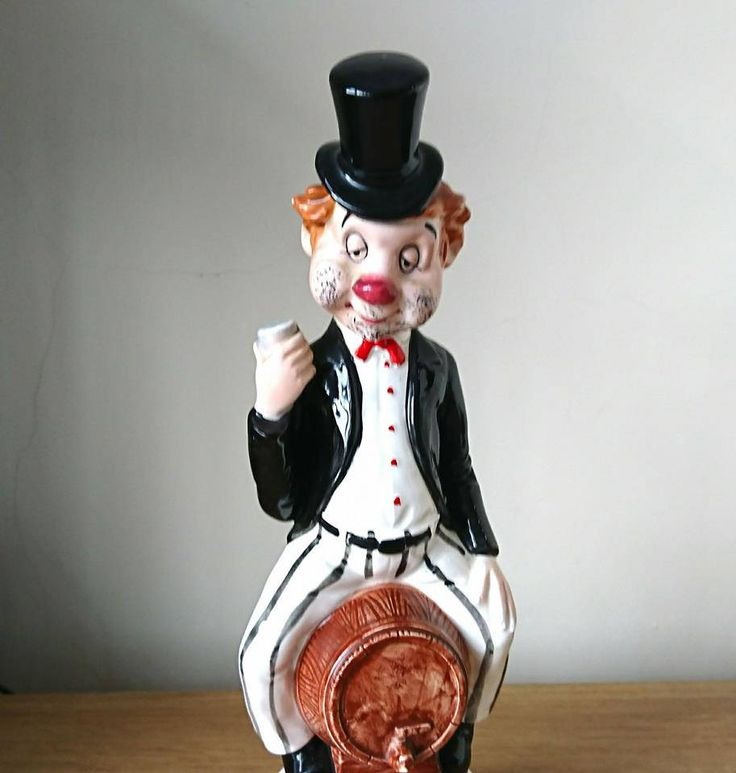 Excited to share the latest addition to my #etsy shop: Vintage Decanter Clown Musical Ceramic Dog 1960's Barware Figurine Retro Kitsch Hound Decanter whisky decanter http://etsy.me/2Au5MnR #housewares #vintagedecanter #retroclownfigurine #vintageclownfigure #ceramicclown #musicbo