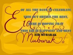Happy eid mubarak wishes sms, quotes, messages http://greetingspic.blogspot.com/2015/06/happy-eid-mubarak-wishes-sms-quotes.html