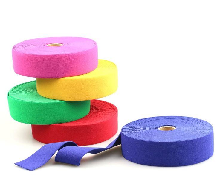 elastik bund gummiband 38 mm breit 11 farben kreativ. Black Bedroom Furniture Sets. Home Design Ideas