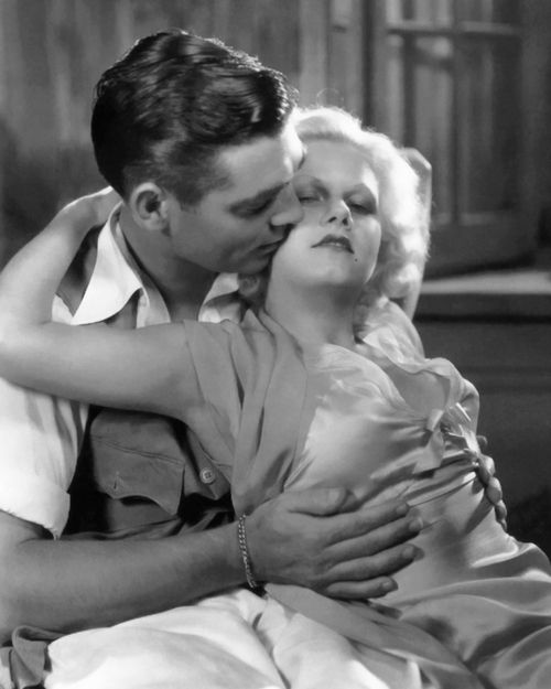 Clark Gable and Jean Harlow, 1932