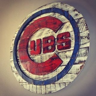 Whose ready for baseball season!? Just finished another one of these #cubs…