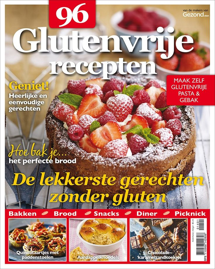 96 Glutenvrije Recepten - featured