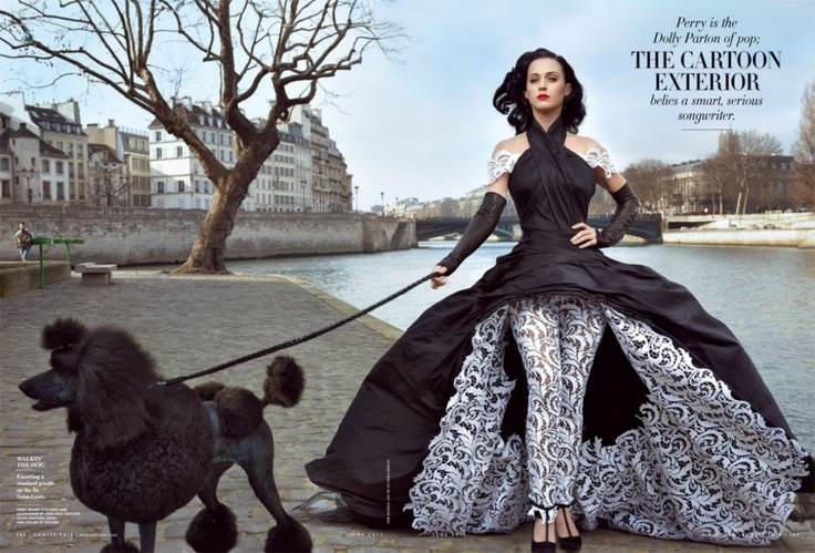 Katy Perry in Jean Paul Gaultier | 22 Dog and Puppy Photos from Our Magazine