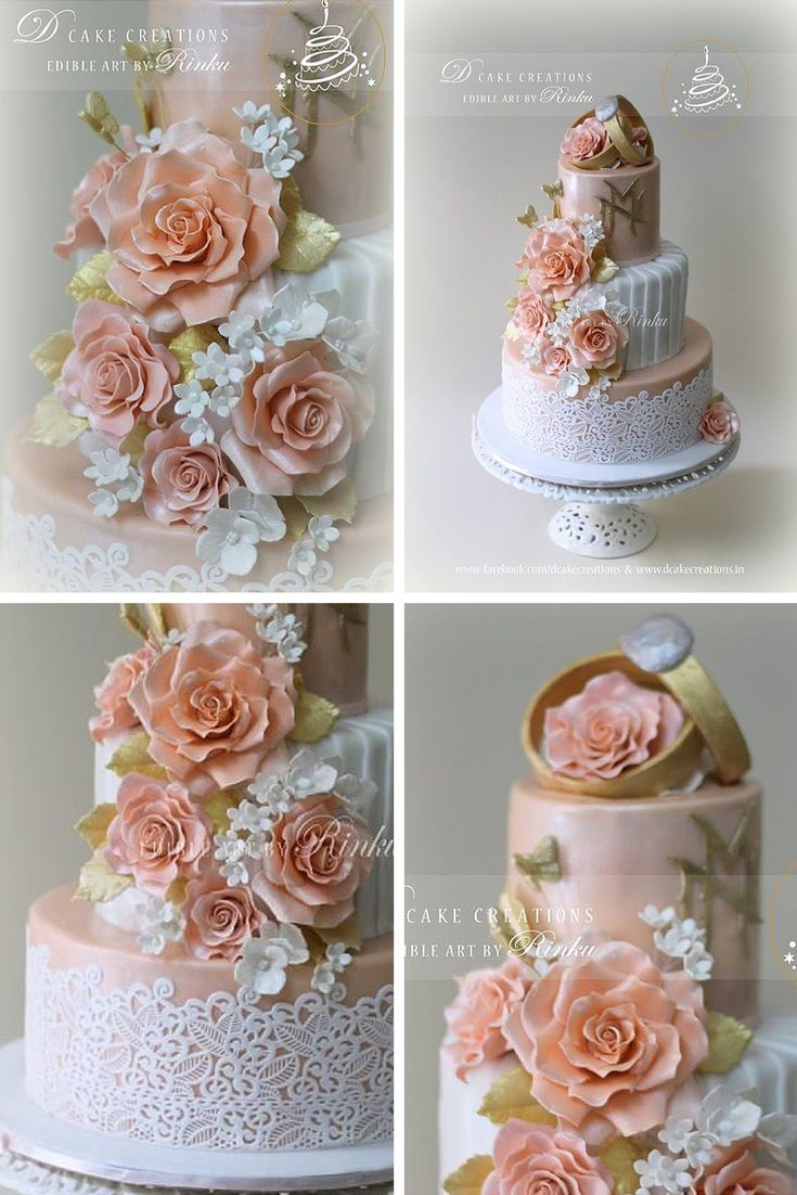 wedding cake flowers edible 50 best engagement cakes images on engagement 22674