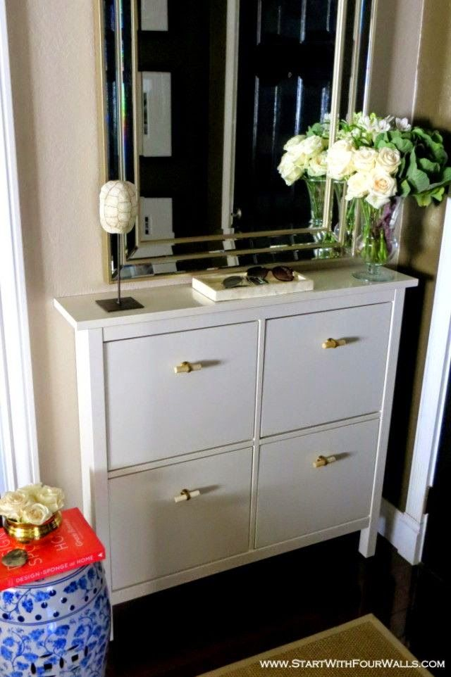 Simple details ikea hemnes cabinet for the home for Ikea hemnes shoe cabinet hack