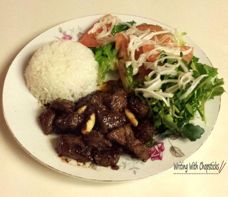 Bo Luc Lac - Vietnamese Shaken Beef