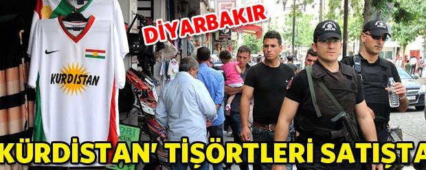 'Kürdistan' tişörtleri satışta | t34Haber