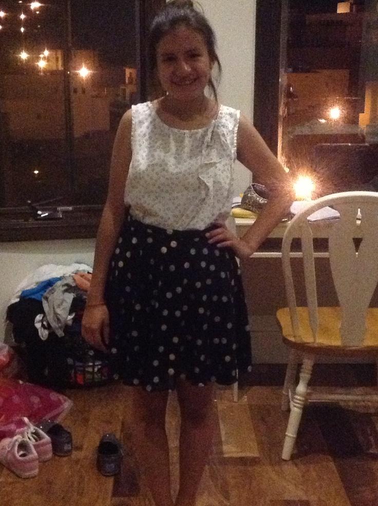 Gorgeous skirt for my sister-4 hours @Fernanda Garcia