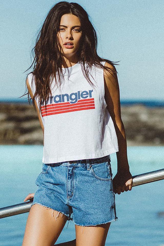 wrangler - Malibu Muscle - White/Navy