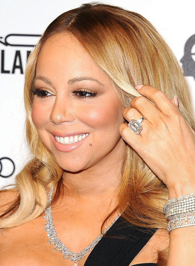 Mariah Carey - click through to see more of the biggest celebrity engagement rings!