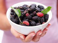 Jedlé a léčivé plody moruše: sirup, kompot, marmeláda