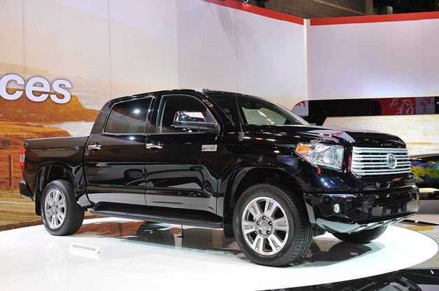 2014 Toyota Tundra appears with revised styling, same mechanicals