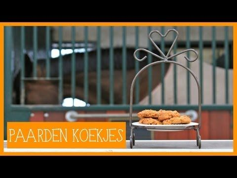 Paardenkoekjes maken | PaardenpraatTV - YouTube
