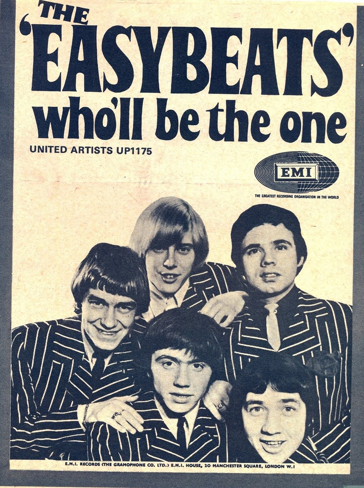 1000 Images About The Easybeats On Pinterest Vinyls