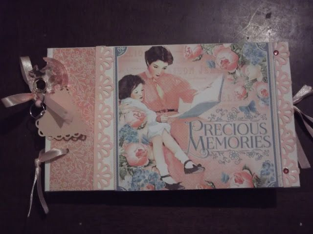 Precious Memories Graphic 45 mini album