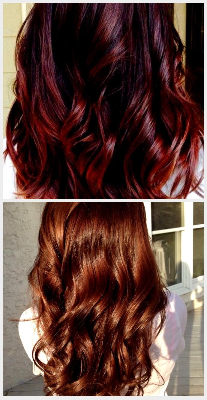 Hair Color Ideas For Brunettes With Red Peekaboo 16 Ideas Brunettes Color Hai Brunette Hair Color Hair Hair Color