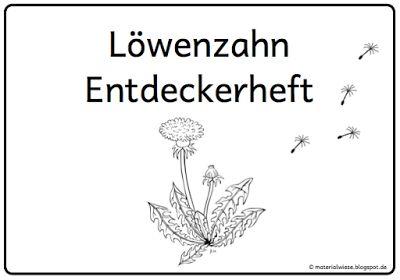Löwenzahn Entdeckerkartei und Löwenzahn Entdeckerheft für entdeckendes Lernen im Sachunterricht der Grundschule