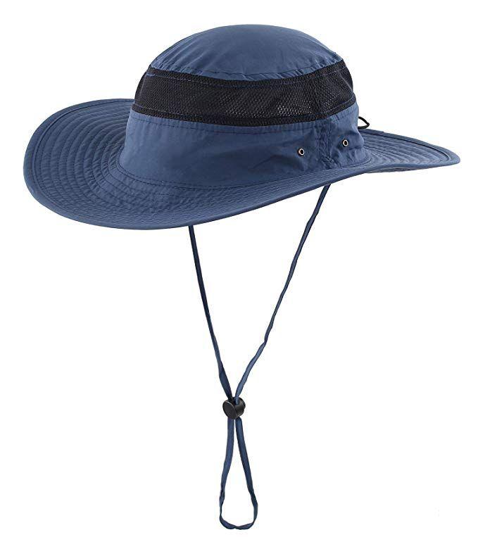 Home Prefer Mens Mesh Bucket Hat Upf 50 Sun Hat For Outdoor Fishing Hunting Camping Safari Hat Navy Blue Mens Sun Hats Sun Hats Fishing Hat