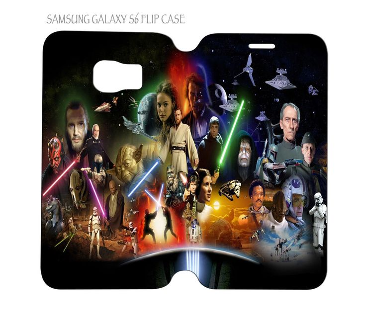 Samsung Galaxy S6 G920 Folio Flip Case Cover Star Wars #QuinnCafe