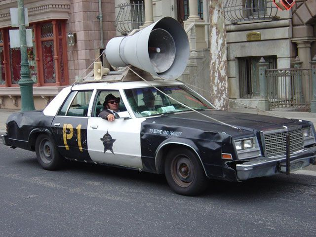 """The Bluesmobile, a Dodge Monaco Police Car, """"Blues Brothers"""""""