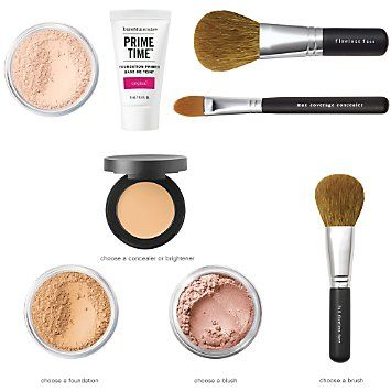Bare Minerals Flawless Complexion Essentials Kit $90 Bought It! 8/22/14