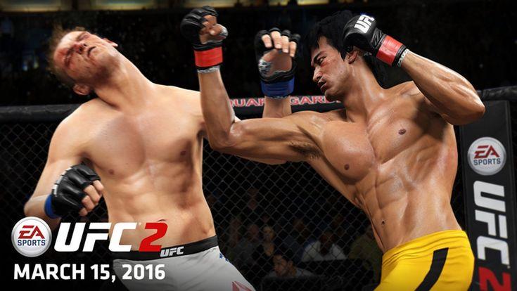 EA Sports UFC 2: nuove immagini con Anderson Silva, Bruce Lee, Ronda Rousey e Colin McGregor