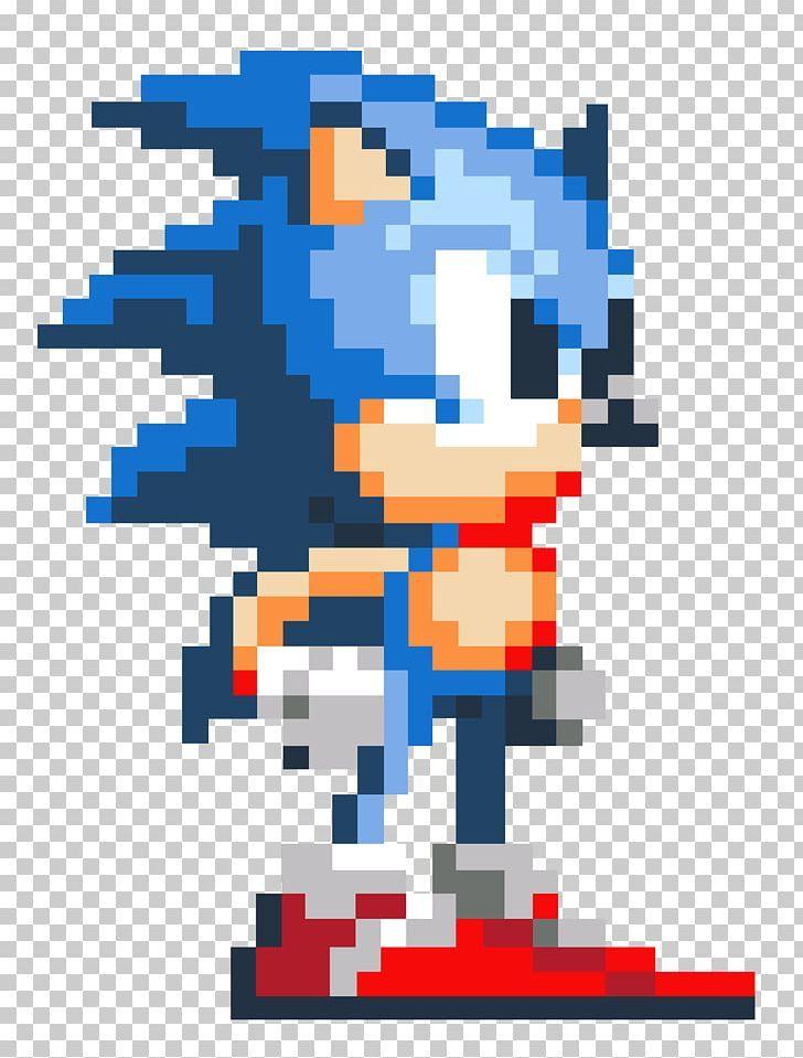 Sonic The Hedgehog 2 Pixel Art Video Game Png 8 Bit Area Art Art Video Game Deviantart Pixel Art Characters Pixel Art Pixel Art Pattern