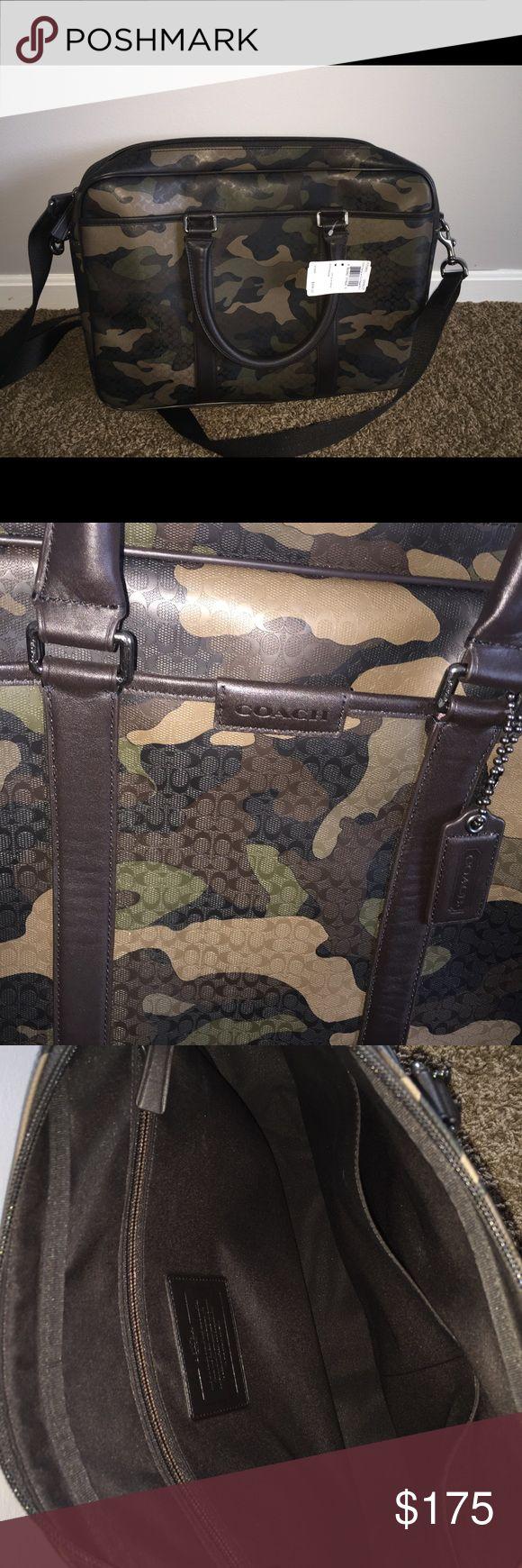 Coach Camo Classic C Messenger Bag NWT Brand New with tags, Coach Camo Classic C Messenger bag. Great work bag for men/women! NO TRADES! Coach Bags Laptop Bags