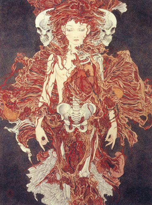 Entre o erotismo e a fantasia – As pinturas do japonês Yamamoto Takato