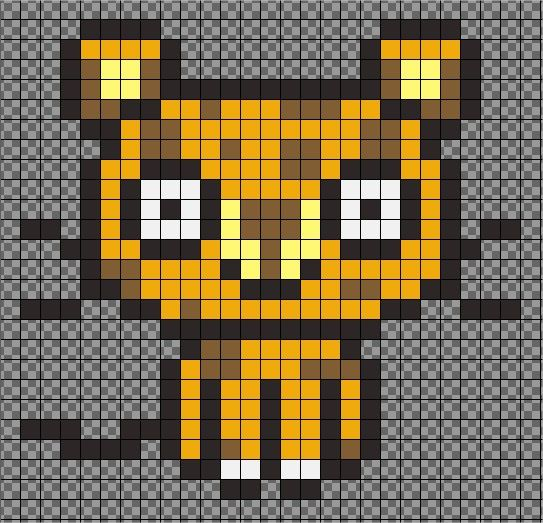 17 best images about hama on pinterest perler bead patterns perler beads and fuse bead patterns - Modeles perles a repasser ...