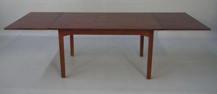 Danish Modern Rosewood 8ft Dining Table Slagelse Mobel