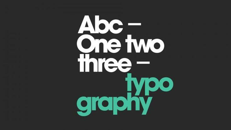 Typography Poem