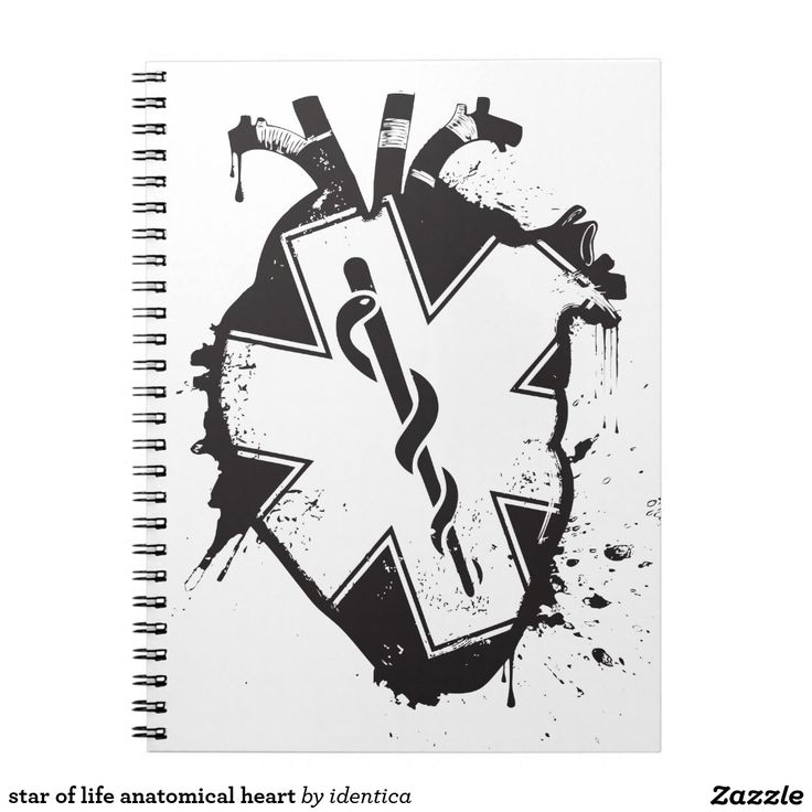 star of life anatomical heart