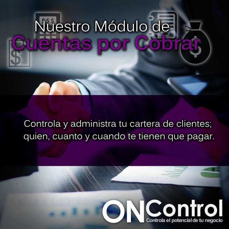 El objetivo del modulo de Cuentas por Cobrar es proporcionar información cuantificada referente al monto total de recuperaciones pendientes de cobros a terceras personas.
