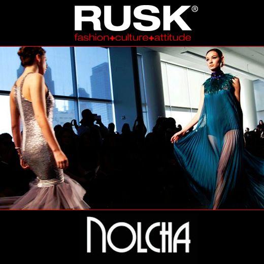 RUSK kicking off their 3rd Nolcha #FashionWeek sponsorship!